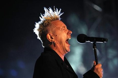 John Lydon of Public Image Ltd. performs at the Coachella Music Festival in Indio, California April 16, 2010. REUTERS/Mario Anzuoni