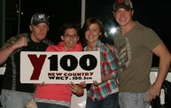 Y100 Presented Eric Church @ The Resch Center on 10/11/12 7