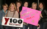 Y100 Presented Eric Church @ The Resch Center on 10/11/12 13