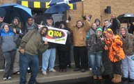 Q106 at Buffalo Wild Wings (10-13-12) 7
