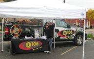Q106 at Old Town Oktoberfest (10-5-12) 8