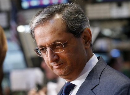 Citigroup's CEO Vikram Pandit gives an interview on the floor of the New York Stock Exchange in this June 18, 2012 file photograph. REUTERS/