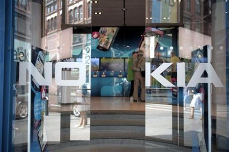 General view of the Nokia flagship store in Helsinki July 18, 2011.REUTERS/Jussi Helttunen/Lehitikuva