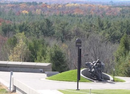 The Highground veterans memorial park near Neillsville, WI