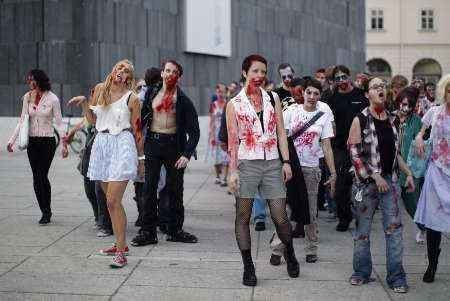 zombie festival attempts record