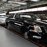 The Cadillac assembly line is seen at a General Motors Auto Plant in Hamtramck, Michigan, near Detroit, July 30, 2010. REUTERS/Larry Downing