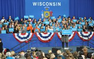 Michelle Obama UWMC visit during Campaign '12 4