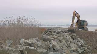 Cat Island restoration project (courtesy of FOX 11).