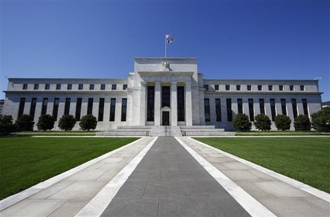 The U.S. Federal Reserve building is seen in Washington June 29, 2011. REUTERS/Jim Bourg