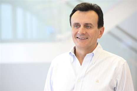 AstraZeneca Chief Executive Pascal Soriot poses for a photograph in this undated handout photograph released in London October 24, 2012. Ast