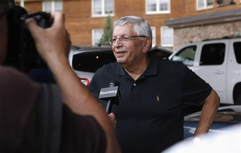 NBA Commissioner David Stern attends the Allen & Co Media Conference in Sun Valley, Idaho July 10, 2012. REUTERS/Jim Urquhart
