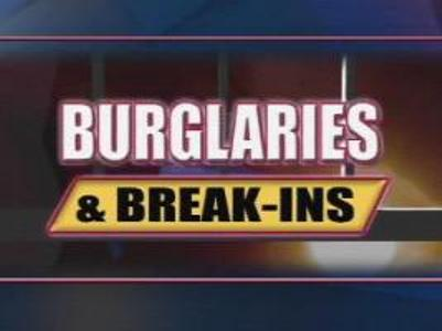 burglaries and break ins