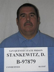 Douglas Stankewitz, shown in this 2007 photo provided by the California Department of Corrections and Rehabilitation, is California's longes