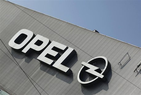 A logo of Opel is pictured at the Opel plant in Bochum March 23, 2012. REUTERS/Ina Fassbender