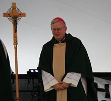 Bishop David Ricken of the Green Bay Catholic Diocese