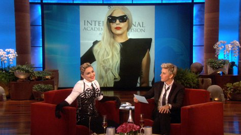Image courtesy of The Ellen DeGeneres Show (via ABC News Radio)