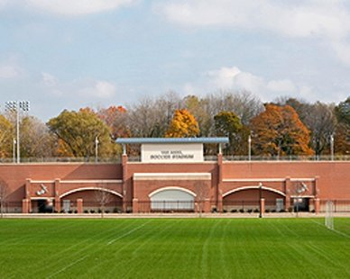 Van Andel Soccer Stadium, home of Hope College's soccer teams (photo courtesy Hope College)