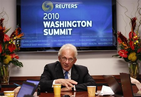 House Foreign Affairs Committee Chairman Howard Berman (D-CA) speaks at the Reuters Washington Summit September 20, 2010. REUTERS/Kevin Lama
