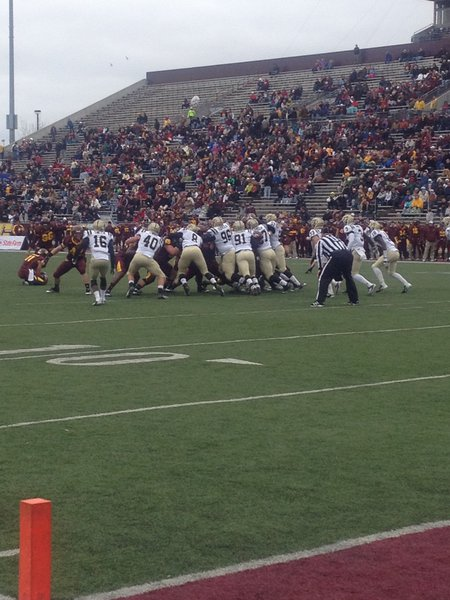 Special teams rise up for WMU. WMU @ CMU 11/3/12