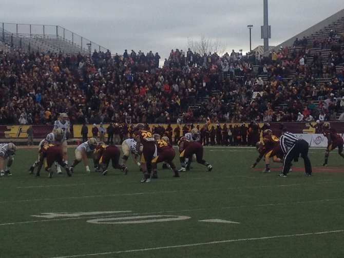 The Bronco offense is clicking. WMU @ CMU 11/3/12
