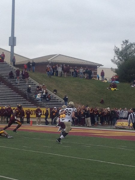 Blake Hammond breaks loose for 6! WMU @ CMU 11/3/12