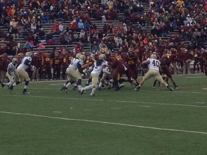 The Bronco D is on a roll. WMU @ CMU 11/3/12