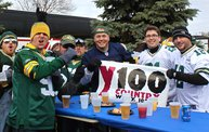 Y100 Tailgate Party at Brett Favre's Steakhouse :: Packers vs. Cardinals 8