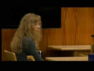 Carly Ottery in Fond du Lac County Circuit Court (courtesy of FOX 11).