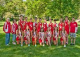 2012 Coldwater Cross Country team