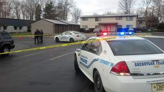 Police in Sheboygan Falls investigate shooting on Monday November 5, 2012. (courtesy of FOX 11).
