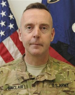Brigadier General Jeffrey Sinclair, a U.S. Army general facing charges of forcible sodomy and engaging in inappropriate relationships stemmi