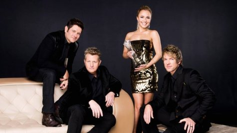 Image courtesy of Rascal Flatts, Hayden Panettiere (CMT) (via ABC News Radio)