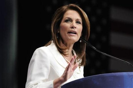 U.S. Representative Michele Bachmann (R-MN) addresses the American Conservative Union's annual Conservative Political Action Conference (CPA
