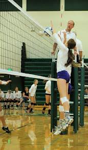 Bronson High Schoool volleyball