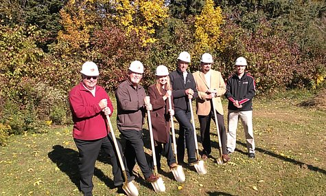 Groundbreaking For Milestones Home in Sheboygan