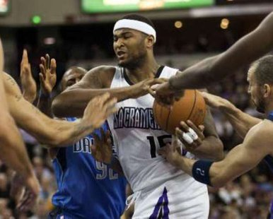Sacramento Kings center DeMarcus Cousins REUTERS/Max Whittaker