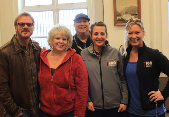 Judy took Y100 to work on her radio and won a visit from Phil Vassar, Bear, Charli, and Abby at the Green Bay Correctional Institution Business Office.  She'll also be going to see Phil at the Meyer Theatre with Y100.