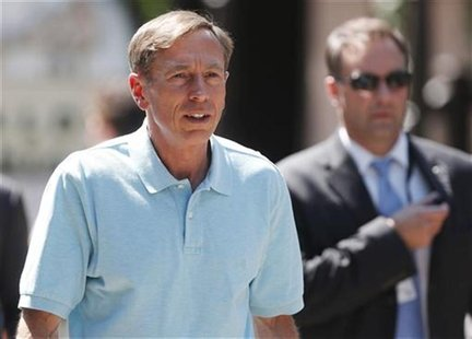 Director of the Central Intelligence Agency General David Petraeus attends the Allen & Co Media Conference in Sun Valley, Idaho July 12, 201