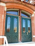Tibbits Opera House doors