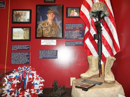 Marshfield's Thomas House History Center Veterans display expands