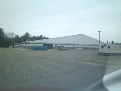 Wausau Curling Club new facility, opening November 30 2012.