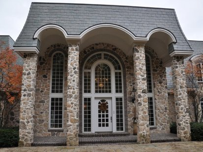 Real estate agents say Sur la Baie is the largest single-family home in Wisconsin. (courtesy of FOX 11).