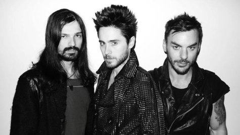 Image courtesy of Facebook.com/ThirtySecondsToMars (via ABC News Radio)