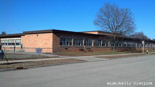 Merryman Elementary School in Marinette on Tuesday, November 13, 2012. (courtesy of FOX 11).