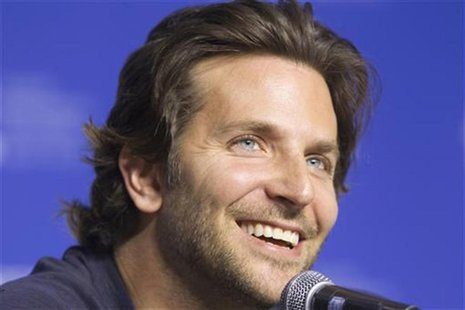 "Actor Bradley Cooper attends a news conference to promote his film ""Silver Linings Playbook"" during the 37th Toronto International Film Fest"
