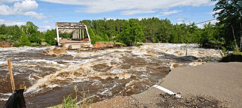 210 bridge approach wash out (MnDot)