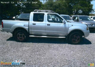 The Forest Co. Sheriff's Dept. says missing man Christopher Leach drives a silver four-door Nissan Frontier similar to the one pictured above. Leach's license plate number is AK 1756.