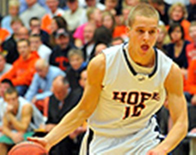 Colton Overway of Hope College (photo courtesy Hope College)