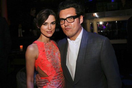 "Keira Knightley and Director Joe Wright attend the after party for the premiere of the movie ""Anna Karenina"" at the Greystone Manor Supper C"
