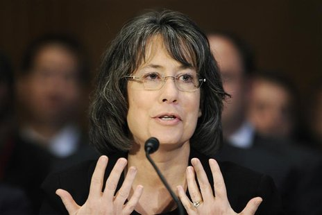 Sheila Bair testifies before the Senate Banking Committee hearing on oversight of Dodd-Frank Wall Street reform and consumer protection impl
